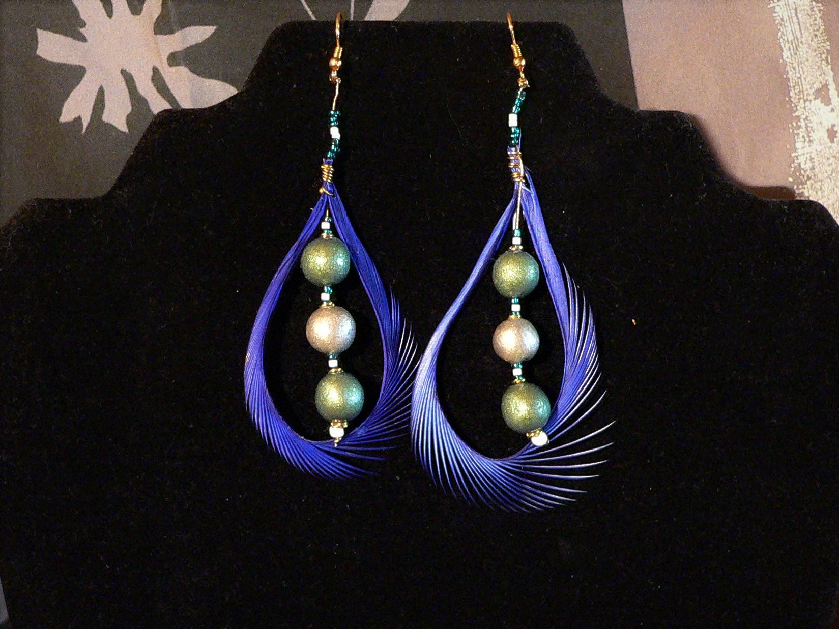 feather earrings range