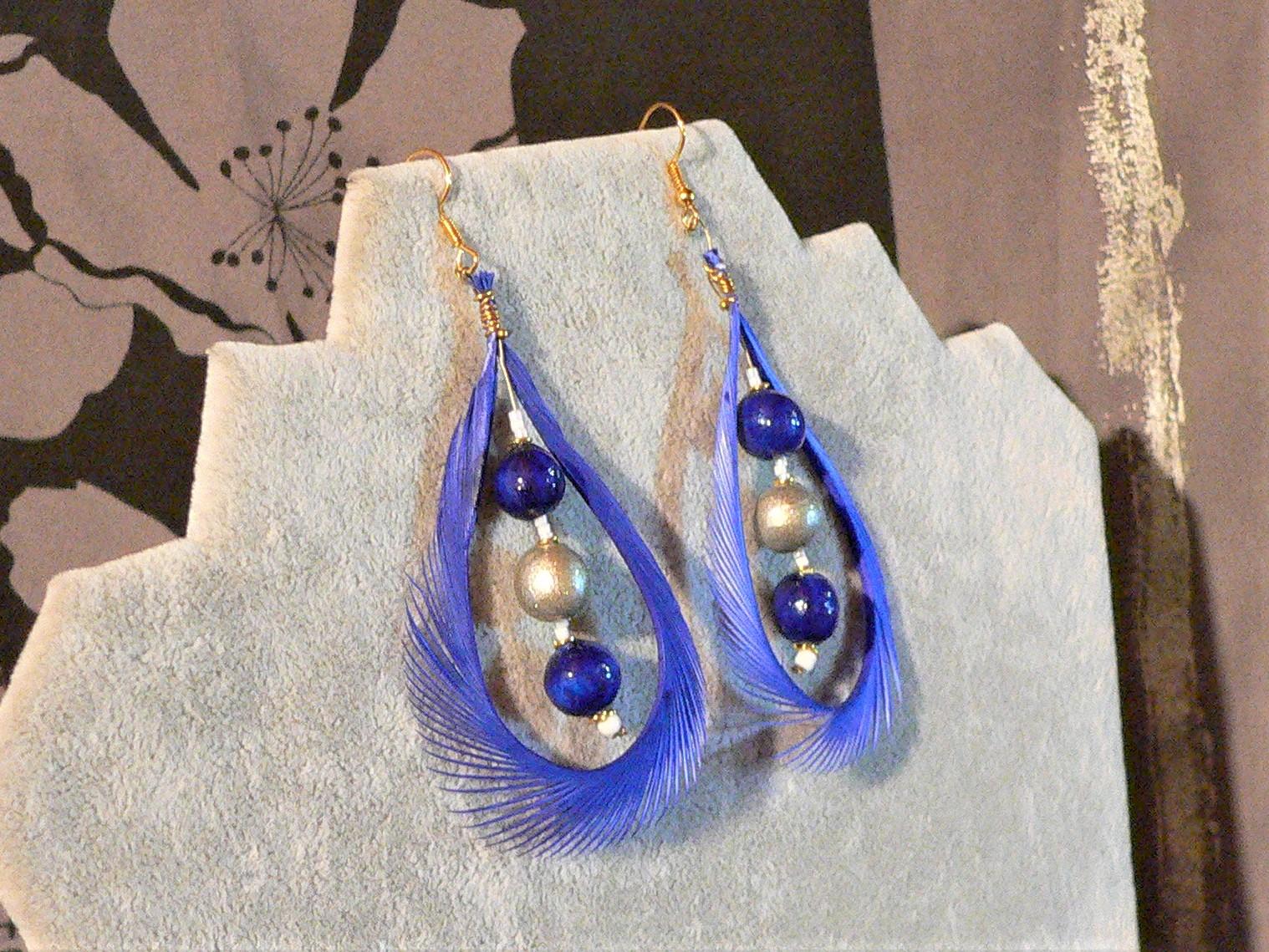 gamme bijoux plumes