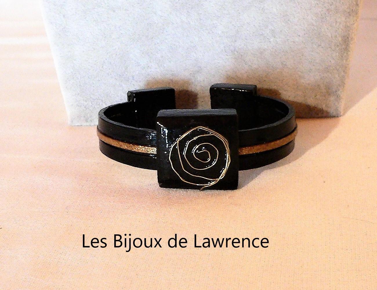 ceramic-bracelet-leather and aluminum-range calligraphy